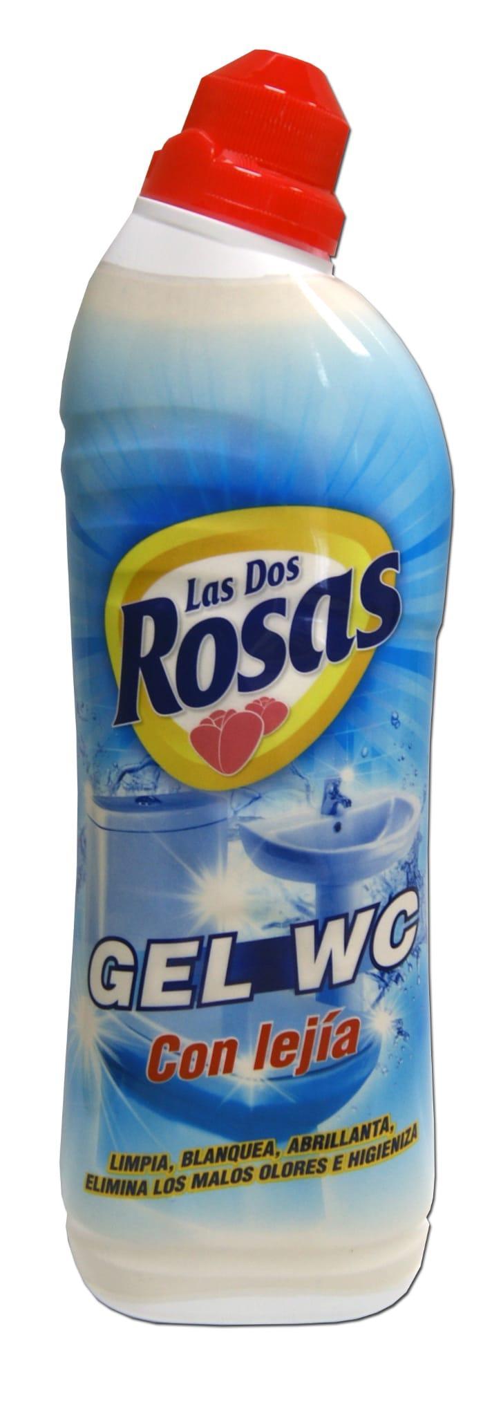 Las 2 Rosas Gel WC Lejía 1 Litro