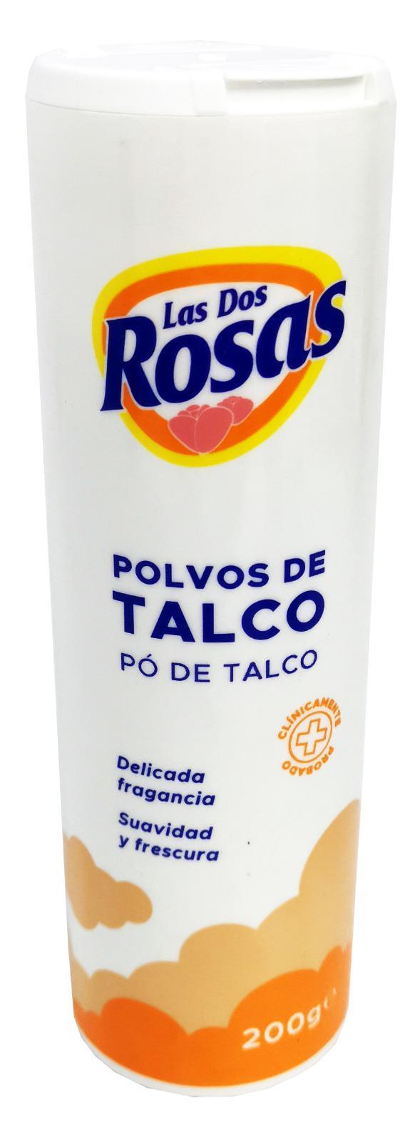 Las 2 Rosas Talco 200gr