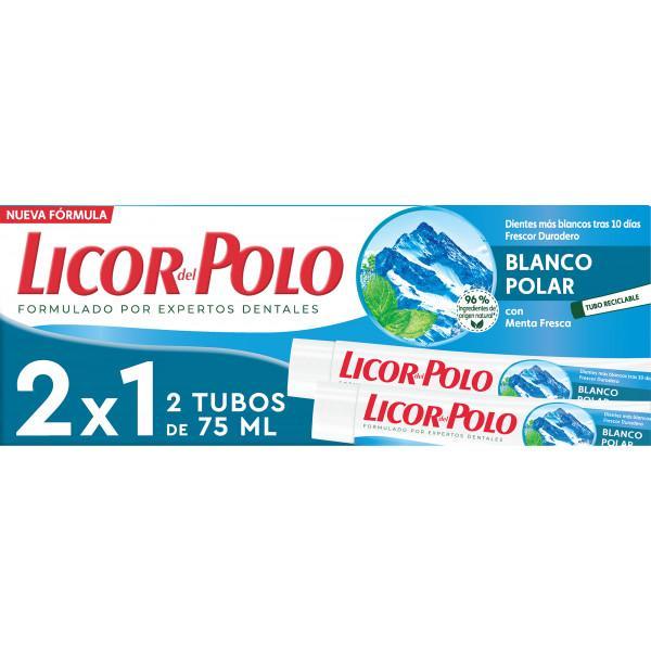 Licor del Polo Blanco Polar Pack 2 Tubos de 75ml