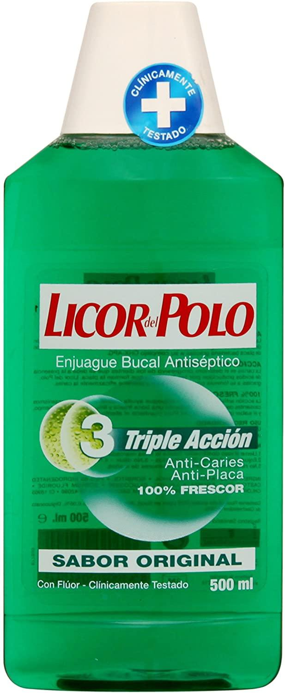 Licor del Polo Enjuague Verde 500ml