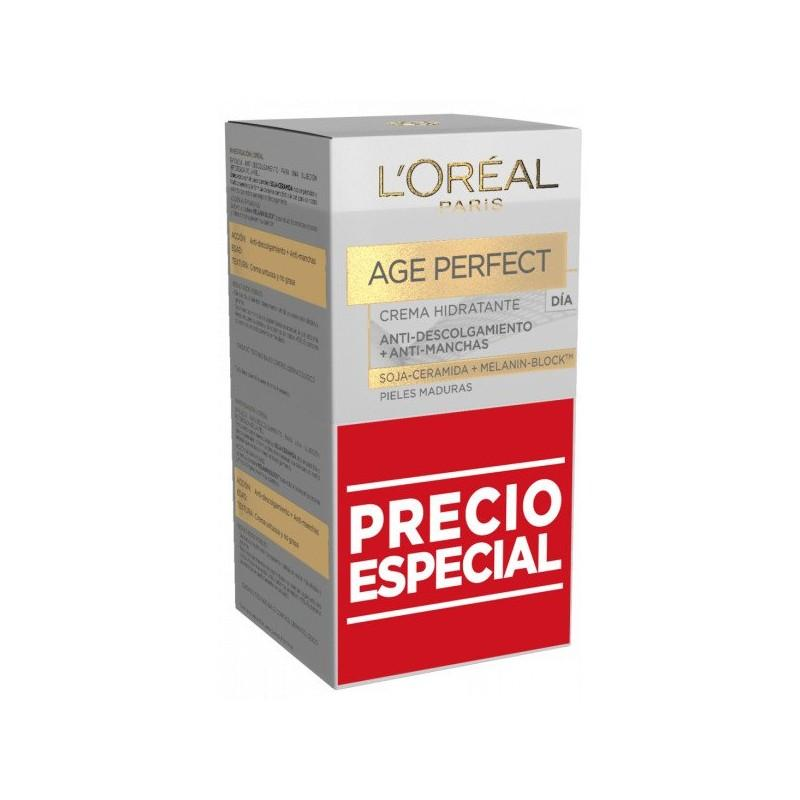 Loreal Crema Age Perfect Día Pack 2u