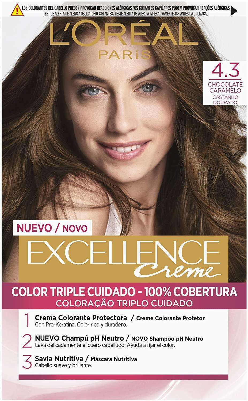 Loreal Tinte 4.3 Chocolate Caramelo