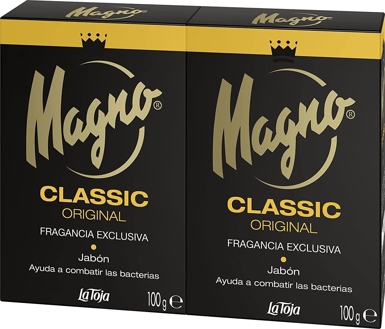 Magno Pastilla Jabón 100gr pack 2 unidades