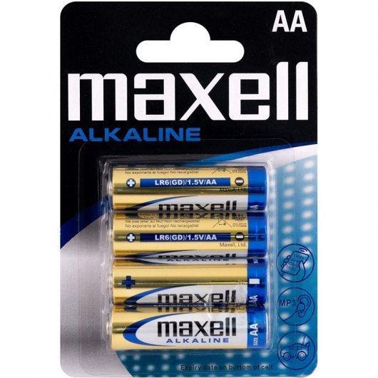 Maxell Pilas Alcalina AA 4u