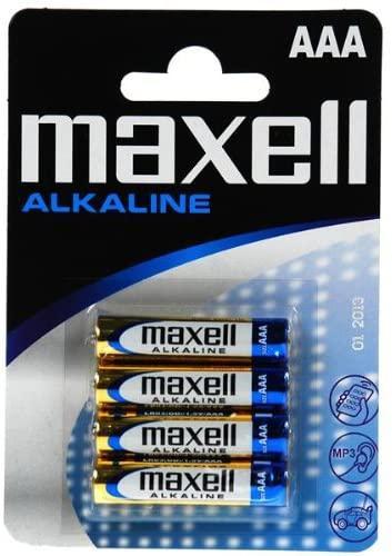 Maxell Pilas Alcalina AAA 4u
