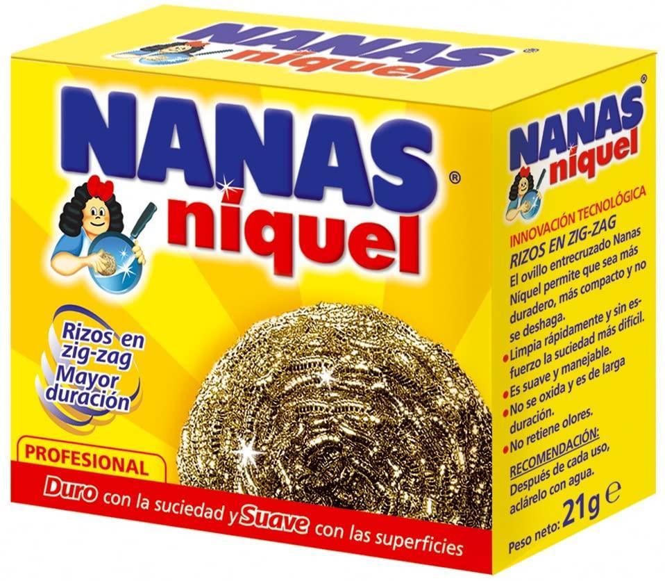 Nanas Estropajo Niquel 21gr