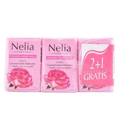 Nelia Jabón pack 3 pastillas