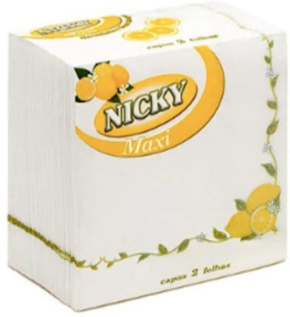 Nicky Servilletas Limón 65u