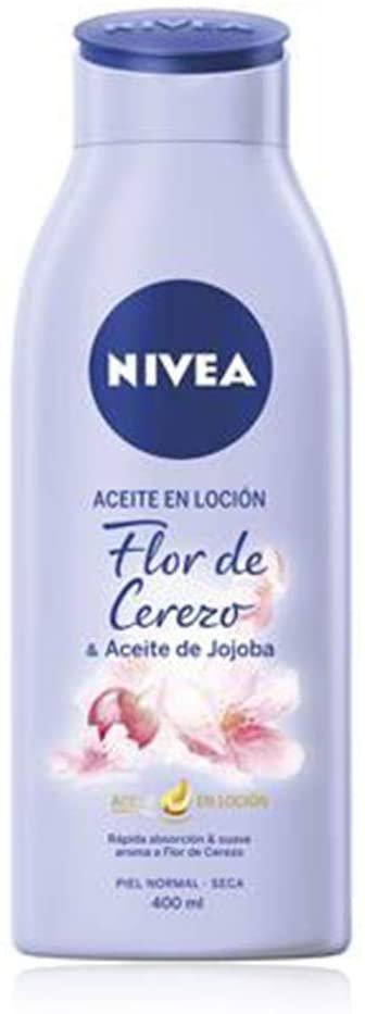 Nivea Aceite en Loción Cerezo-Jojoba 400ml