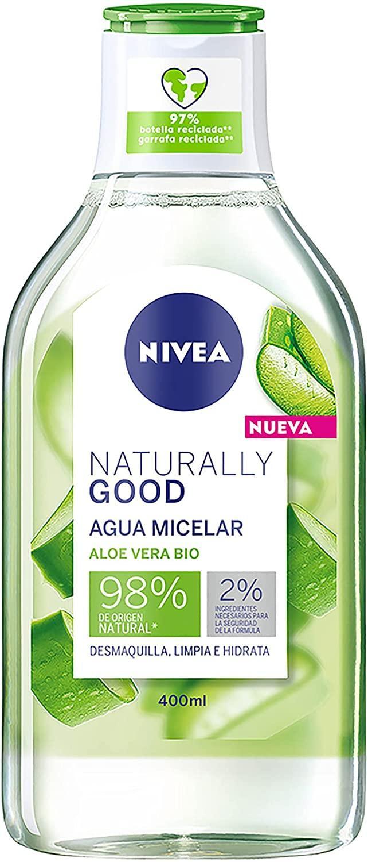 Nivea Agua Micelar Naturally Aloe Vera 400ml