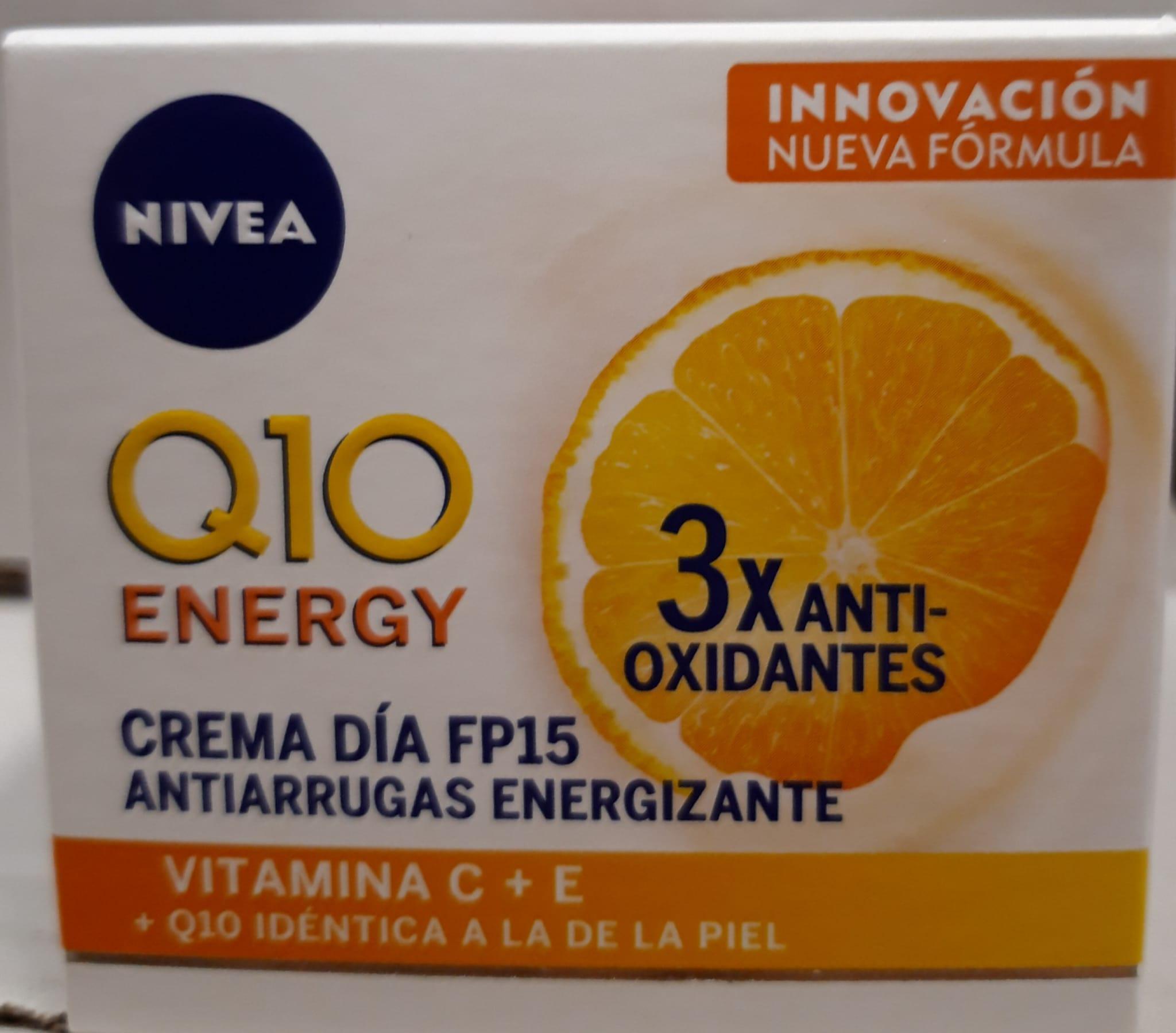 Nivea Crema Q10 Energy Día 50ml