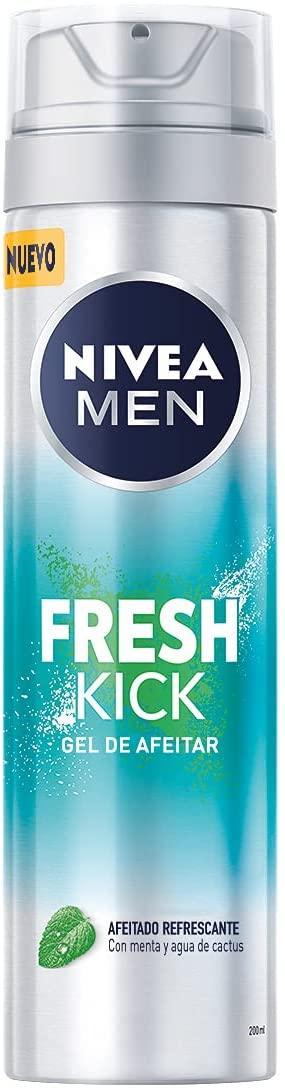 Nivea Men Gel de Afeitar Fresh Kick 200ml
