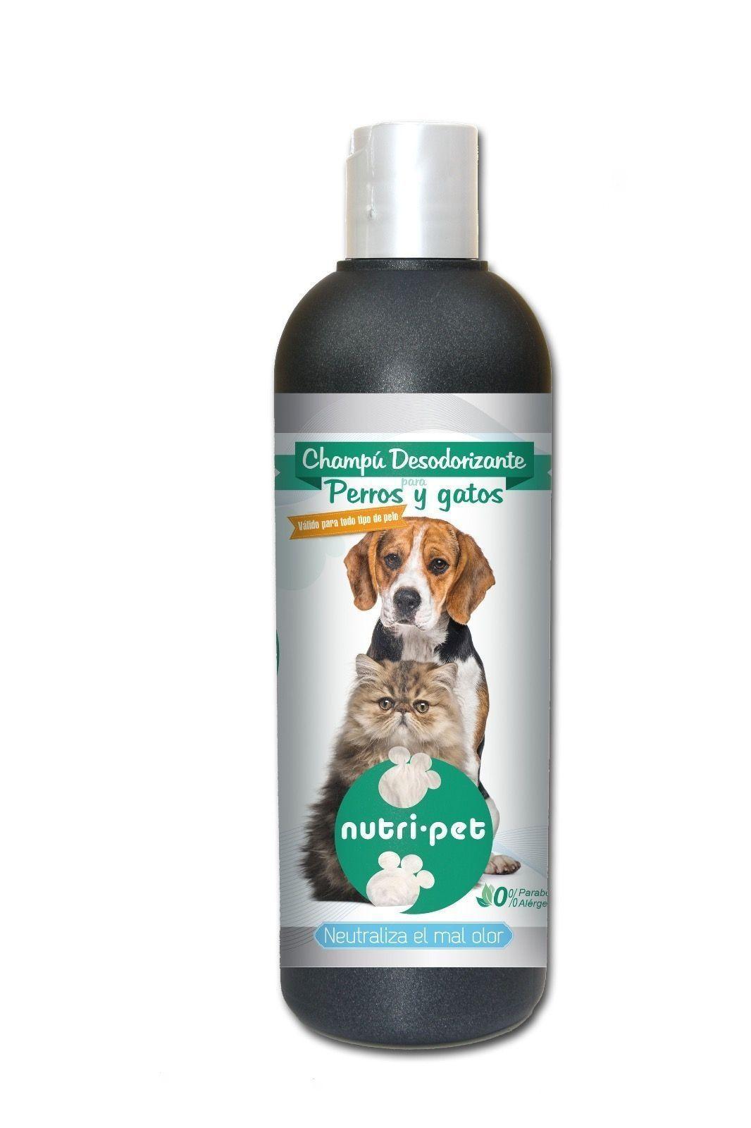 Nutri-Pet Champú Desodorizante Perros y Gatos  500ml