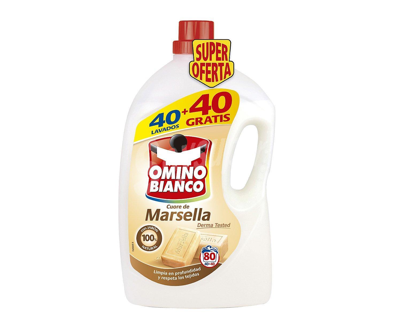 Omino Bianco Detergente Marsella 4 Litros