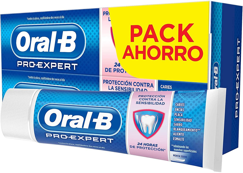 Oral B Pasta Sensibilidad 75ml pack 2u