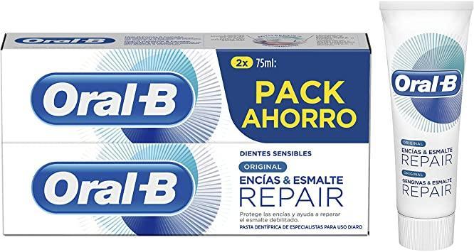 Oral B Repair Original Pack 2 x 75ml