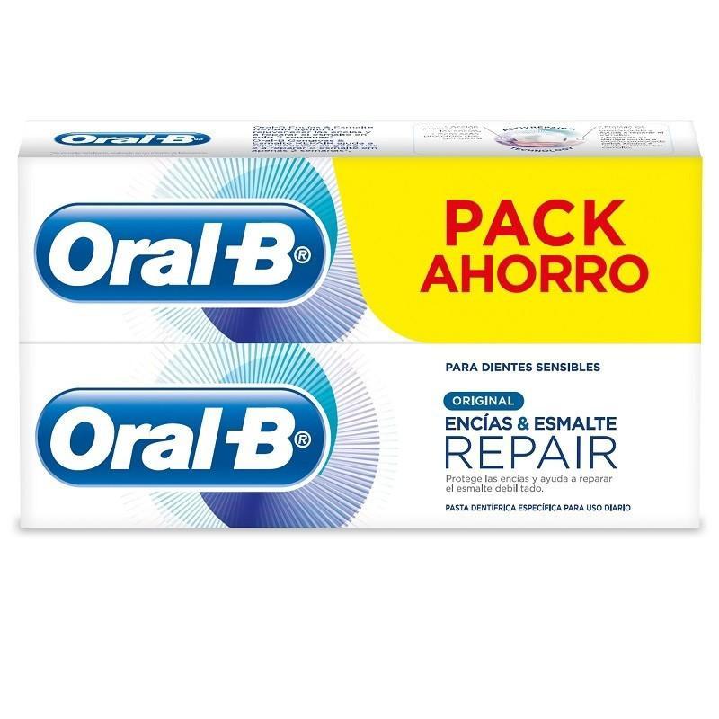 Oral B pasta dental Pro-Repair Original 75ml pack 2 Tubos