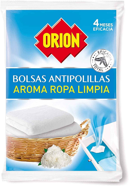 Orion Bolsas Antipolillas Ropa Limpia 20u