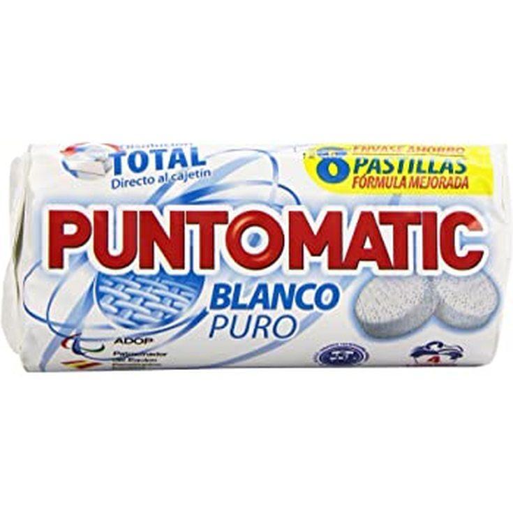 Punto Matic Blanco 8 pastillas