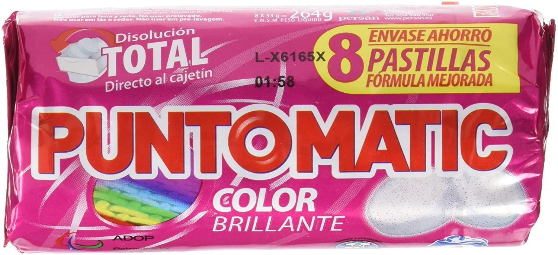 Punto Matic Color 8 pastillas
