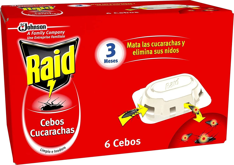 Raid Insecticida Cebo Cucarachas 6u