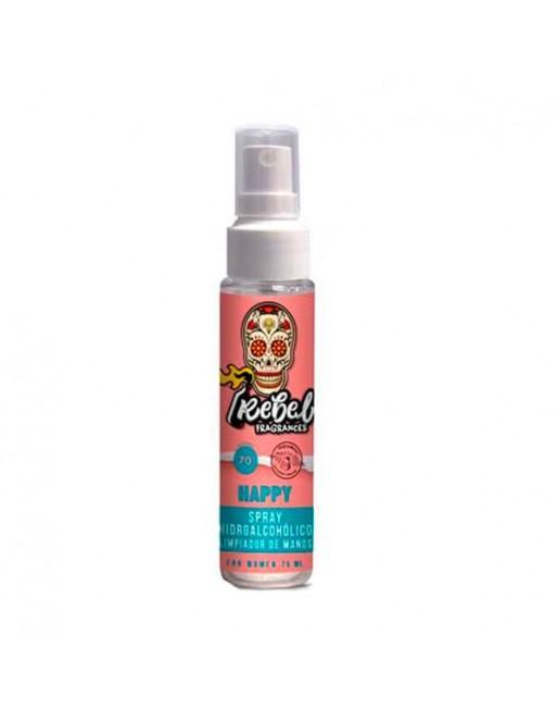 Rebel Fragrances Spray Hidroalcohólico Happy 75ml