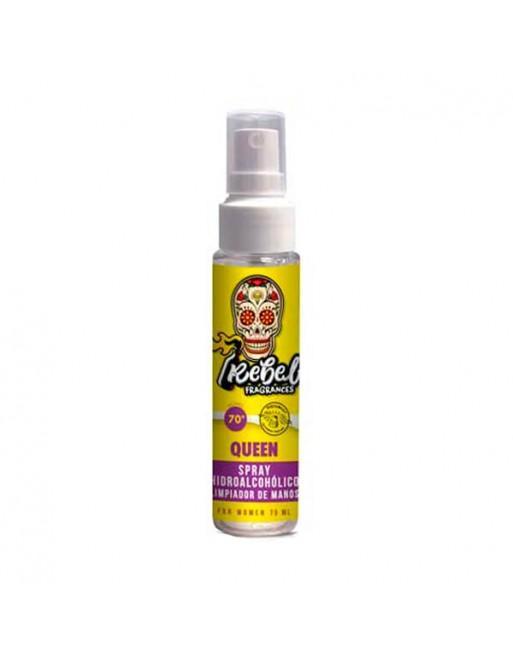 Rebel Fragrances Spray Hidroalcohólico Queen 75ml