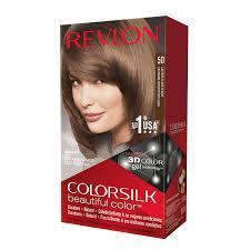 Revlon Colorsilk Sin Amoniaco 50 Castaño Claro Cenizo