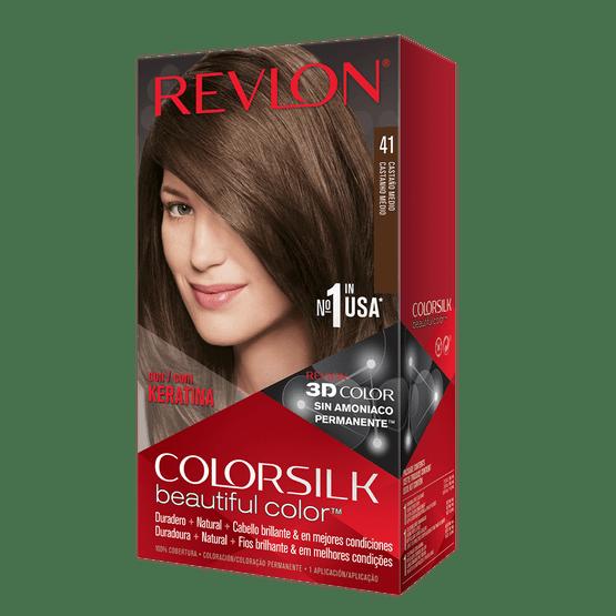 Revlon Colorsilk Sin Amoniaco 51 Castaño Claro
