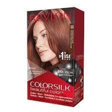Revlon Colorsilk Sin Amoniaco 55 Castaño Rojizo Claro