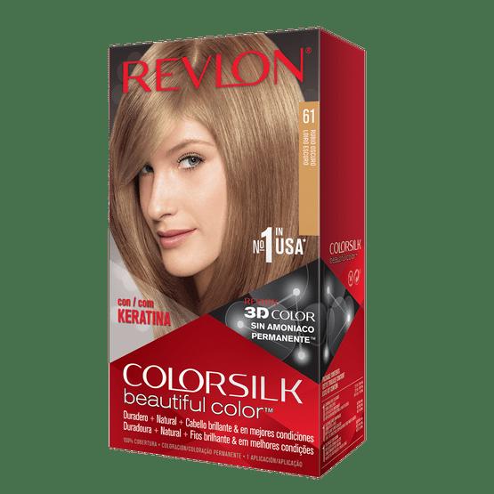 Revlon Colorsilk Sin Amoniaco 61 Rubio Oscuro
