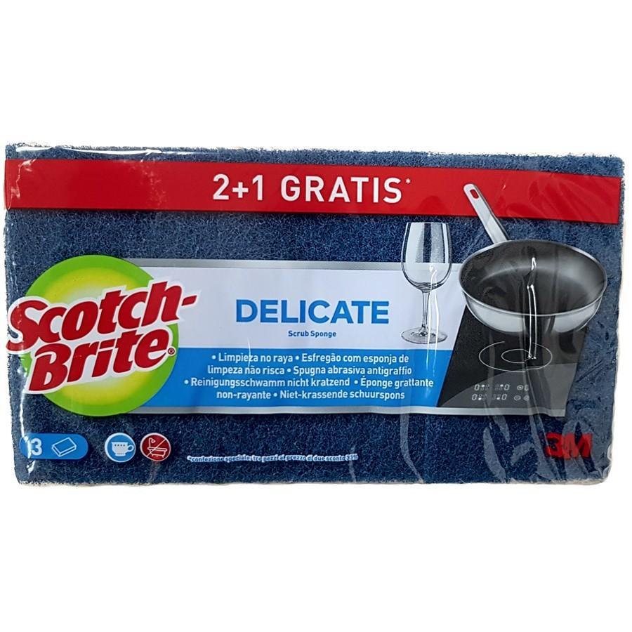 Scoth Brite Delicate 2+1u