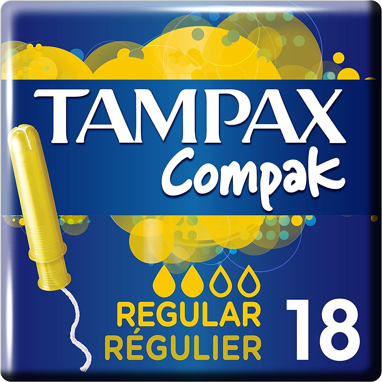 Tampax Compack Regular 18u