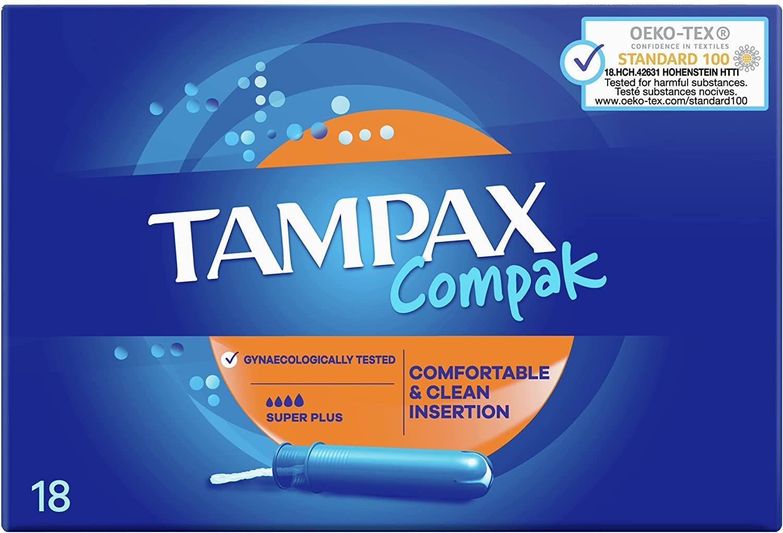 Tampax Compack Super Plus 18 unidades