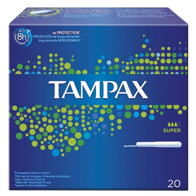 Tampax Super 20u