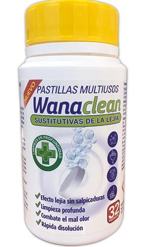 Wana Clean Lejía en Pastillas 32u