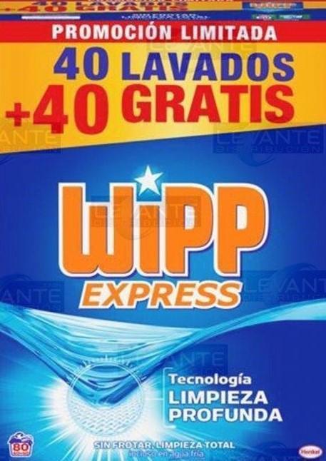 Wipp Polvo 40+40d 4,8kg