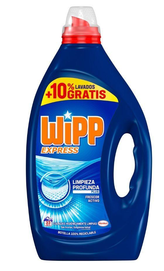 Wipp Detergente Liquido Azul 33d 1.650ml