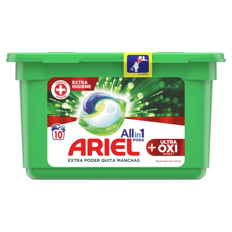 Ariel Pods Ultra Oxi 10u