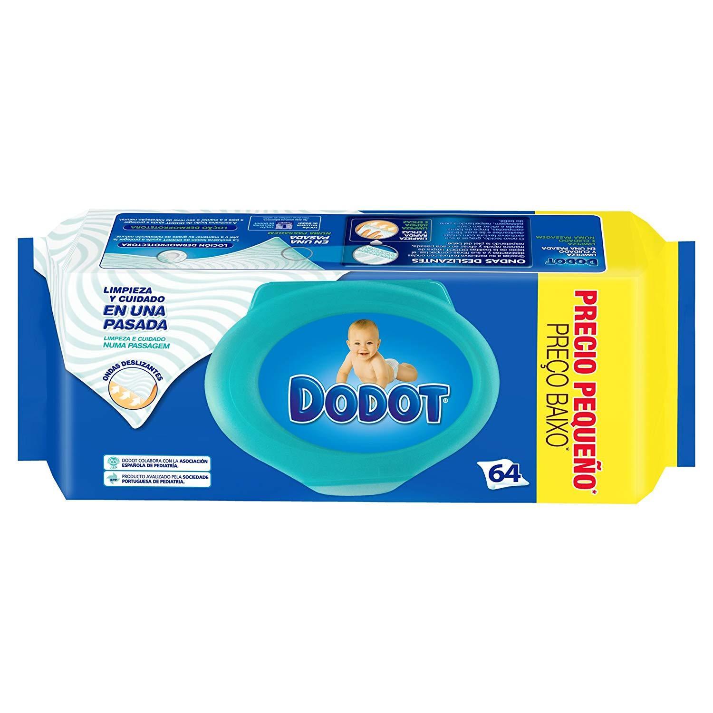 Dodot toallitas c/ Tapa  64u azul