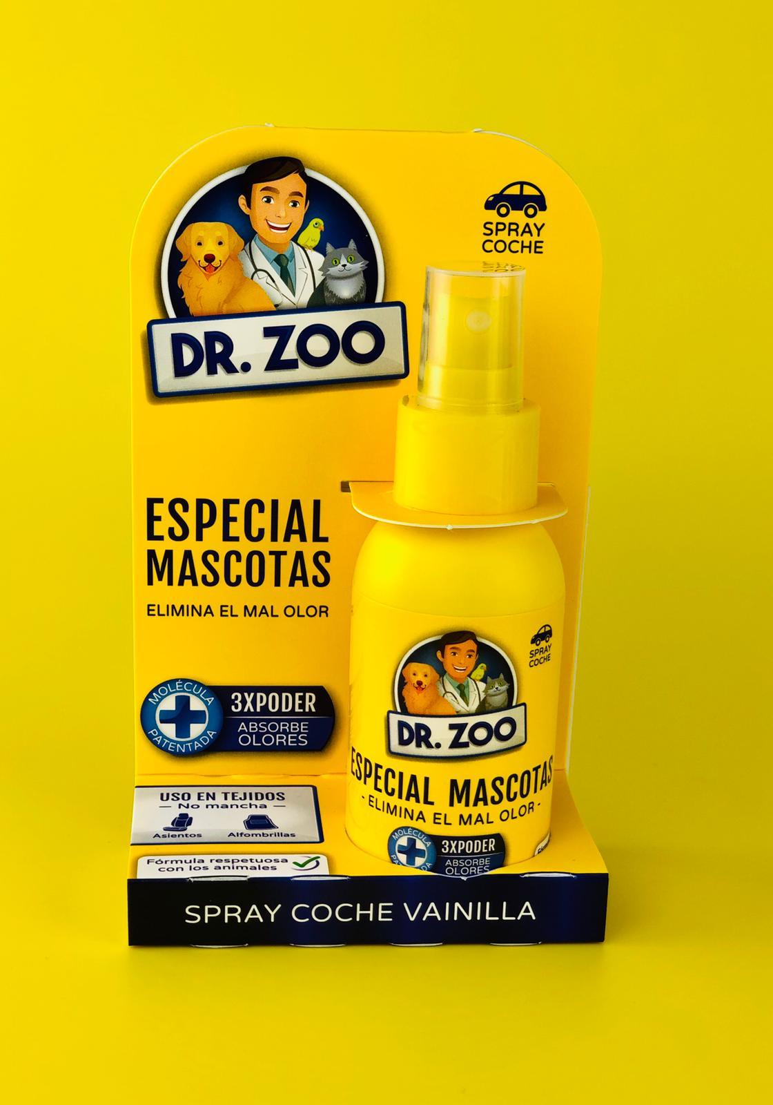 DR Zoo Spray Coche Vainilla 90ml