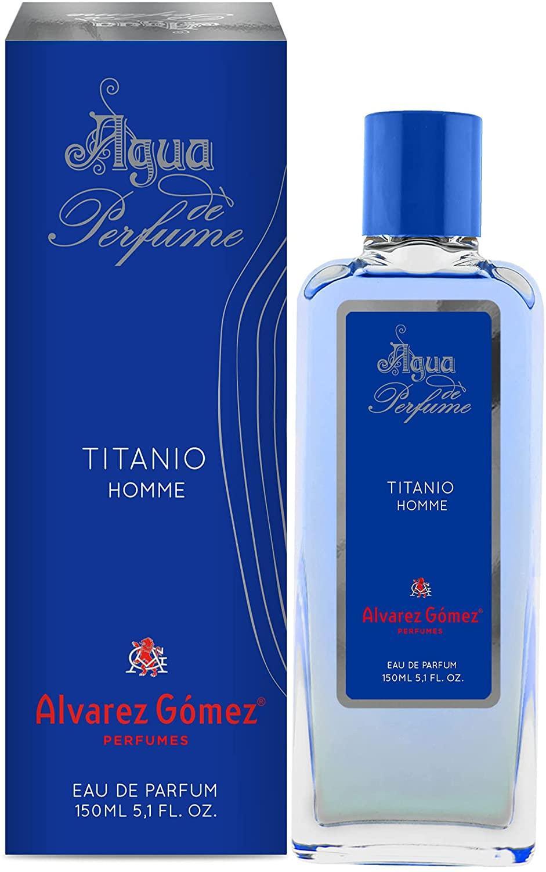Álvarez Gómez Agua Perfume Titanio 150ml