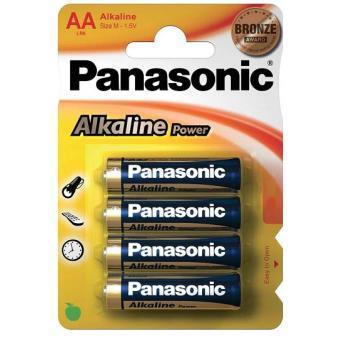 Panasonic pilas AA 4u