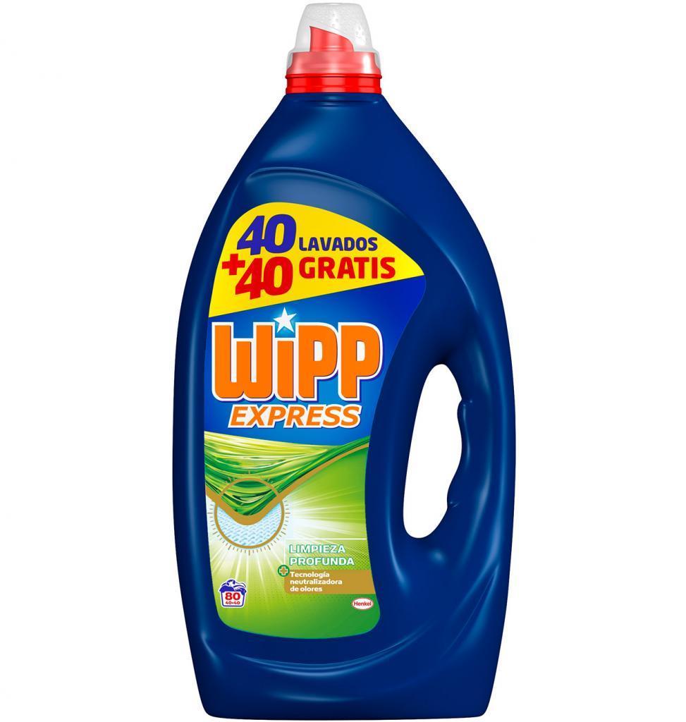 Wipp Gel Higiene 40+40d