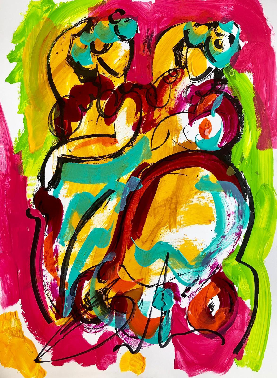 Lámina Balcris Flamencas Bailando 32x42 cm