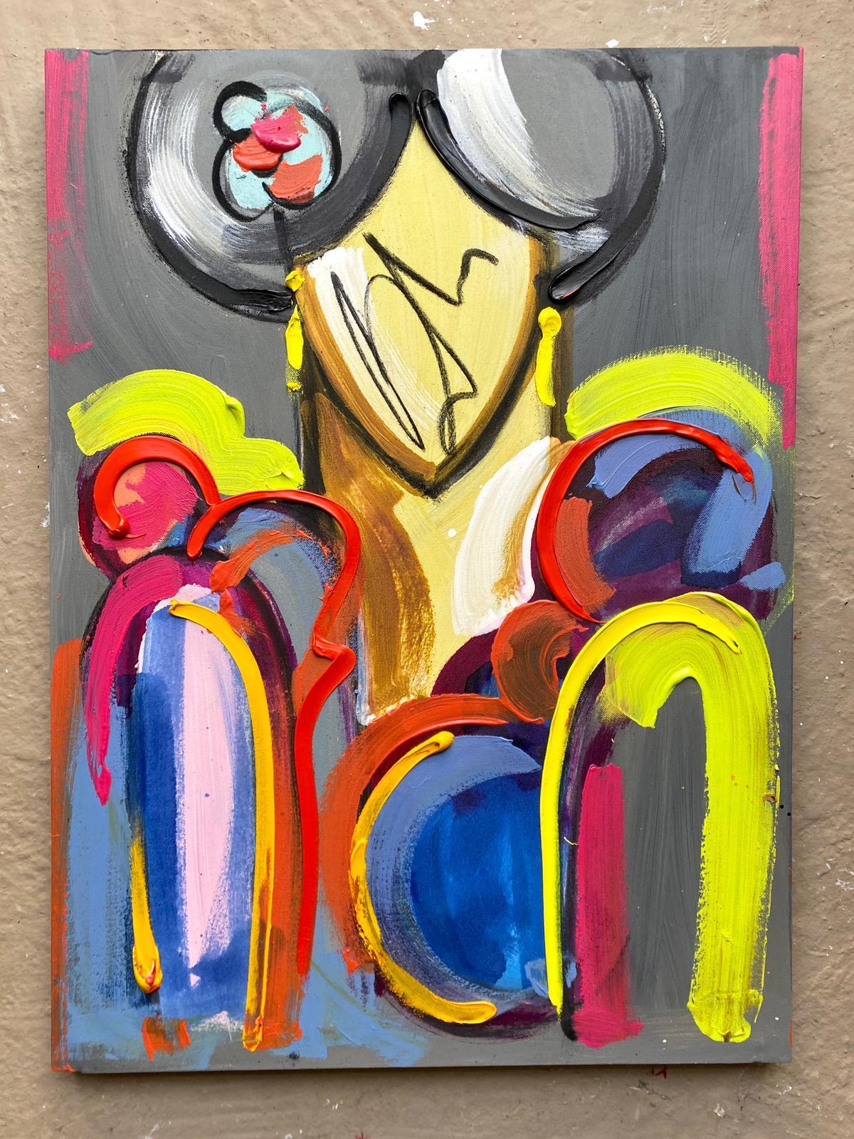Flamenca óleo 50x70 lienzo