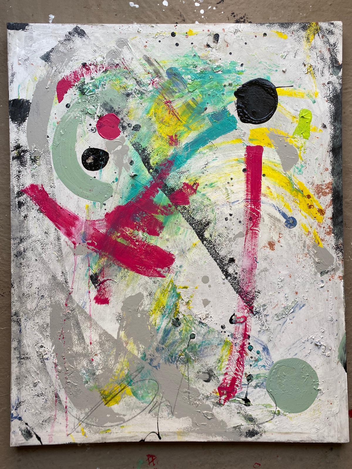 Abstracto óleo 70x90 lienzo