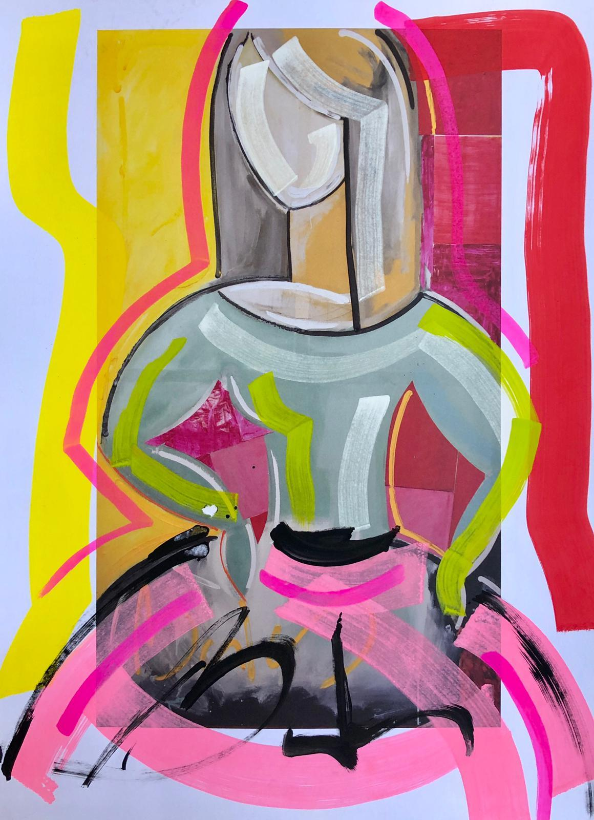 Lámina Menina Balcris 32x42 cm