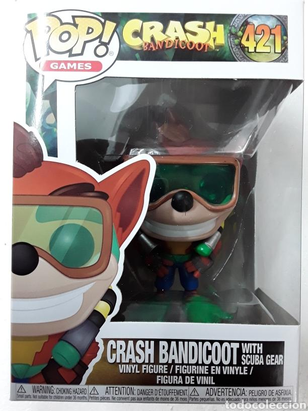 421 - CRASH BANDICOOT WITH SCUBA GEAR - CRASH BANDICOOT - FUNKO POP