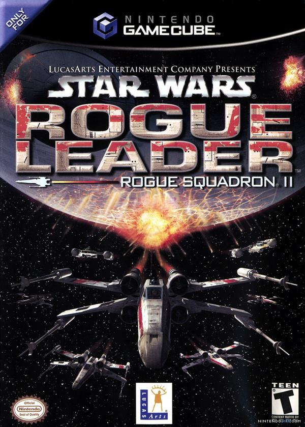 SEMI STARWARS ROGUE LEADER GAMECUBE